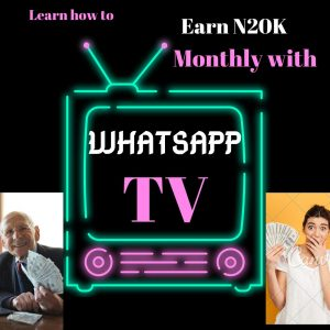 How To Create WhatsApp TV And Earn At Least N20k Per Week