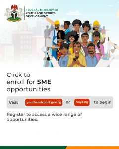 How To Apply For Federal Ministry Of Youth & Sports Business Loan Opportunity