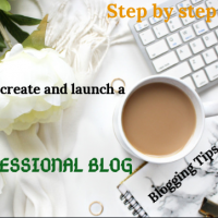 How To Create A Professional Blog & Start Making Money From Blogging