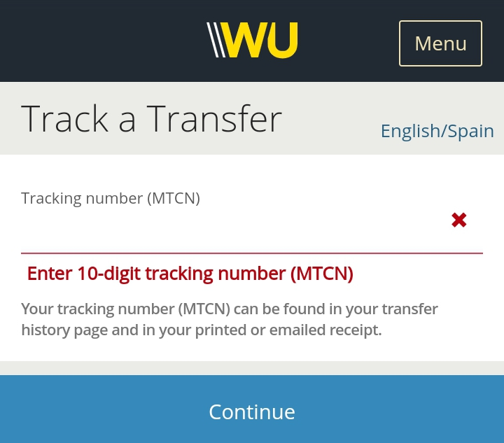 How To Track Western Union Transfer Online With MTCN