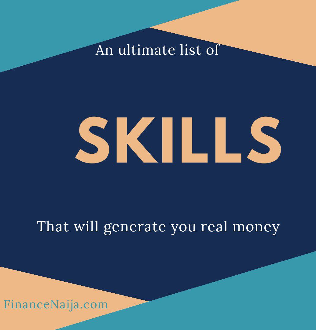An Ultimate List of Skills That'll Make You Real Money